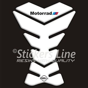 Paraserbatoio-adesivo-resinato-BMW-Motorrad-All-White-adesivi-serbatoio-3D-B-25
