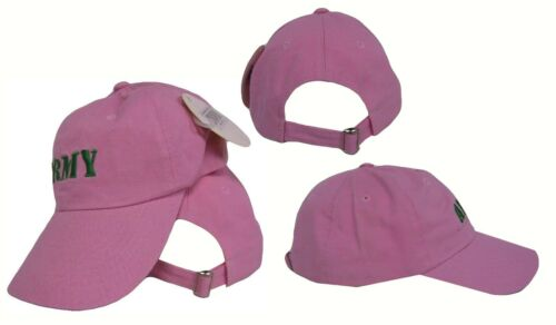 new RUF Army Wife Ladies Embroidered Pink Baseball Hat Cap