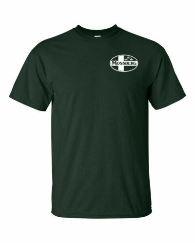 Mossberg White Chest Logo T Shirt 2nd Amendment Pro Gun Rights Rifle Shotgun Tee