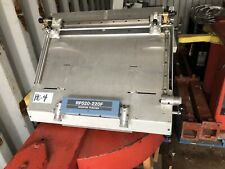 Ryobi Rp520 220f 3 Hole Plate Punch For Offset Printing Optical Register Punch