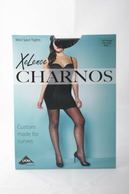 Charnos XeLence Mini Spot Plus Size Tights