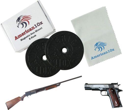 43 Lb Gun Magnet Holder Mount Holster Concealed Pistol Rifle For Car Desk Bed US