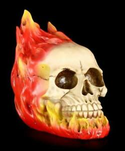 Skull-Burn-IN-Hell-Gothic-Skull-Decor