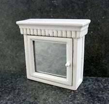 Dolls House Miniature 1:12 Scale Bathroom Accessory Medicine Cabinet Mirror Door