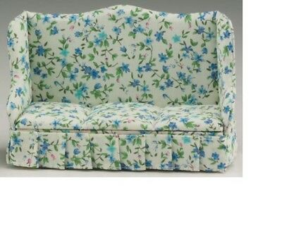 Floral Fabric #CLA10961 Dollhouse Miniatures 1:12 Scale Chair