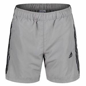 Das Bild wird geladen Adidas-Essentials-3-Streifen-Chelsea-Shorts -Fitnessstudio-Fitness- d62ff6ee30