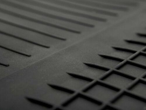 Gummifußmatten für Mazda 2 I Bj 2002-2007 schwarz Automatten R/_A-18