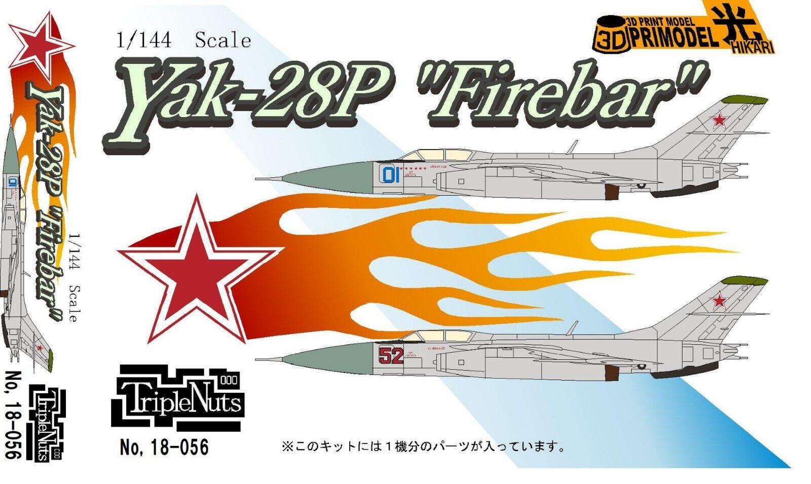 1 144 Cold War Fighter   Yakovlev Yak-28P  Firebar  [USSR]    Triple Nuts