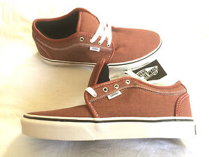 Vans-Chukka-Low-red-washed-canvas-Skateboard-Schuhe-shoe-off-the-wall-1966