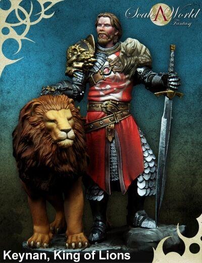 Scale 75 Keynan King of Lions Fantasy 75mm Metal Unpainted Kit