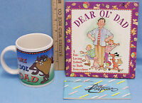 Fathers Day Gift Present Ceramic Taz Mug Kid Coupons Dad Books Lot Of 3