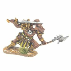 Minotaur-with-Sword-and-Axe-Warhammer-Fantasy-Armies-28mm-Unpainted-Wargames