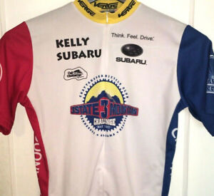 3-State-3-Mountain-Cycling-Jersey-ZIP-Team-ROAD-Biking-RARE-Race-TENNESSEE-Bike