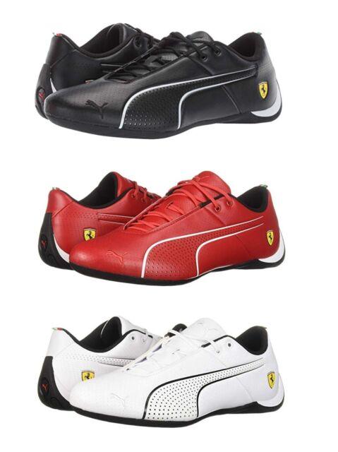 Puma Ferrari Future Cat Ultra Men's Casual Sport Sneakers Shoes Black Red White