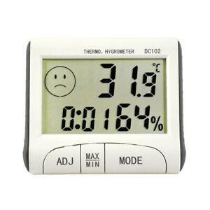 Mini Digital LCD Thermometer Hygrometer Humidity Meter Indoor Temperature