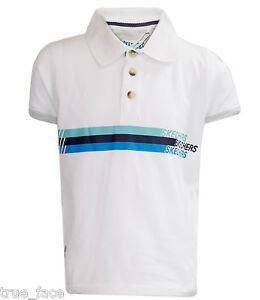 Boys Polo T-Shirt Brand Printed Short Sleeve Tee Shirt Kids White Top Children
