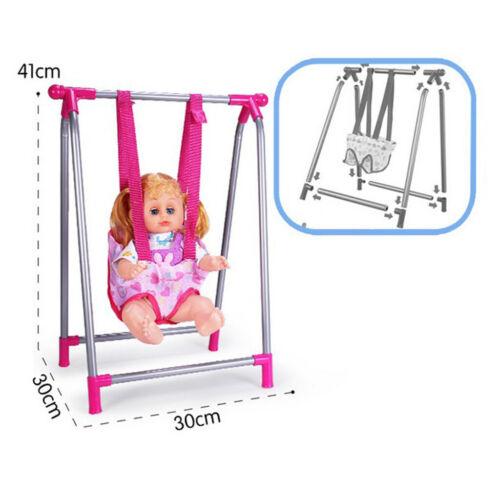 Puppe Baby Kleinkind Schaukel Stuhl Spielset Kinder Simulation Möbel Spielset