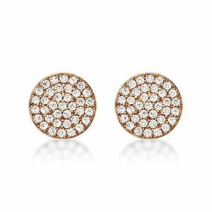 Diamond Treats 18K Yellow Gold Plated Drop Earrings Silver Jewellery Zirconia