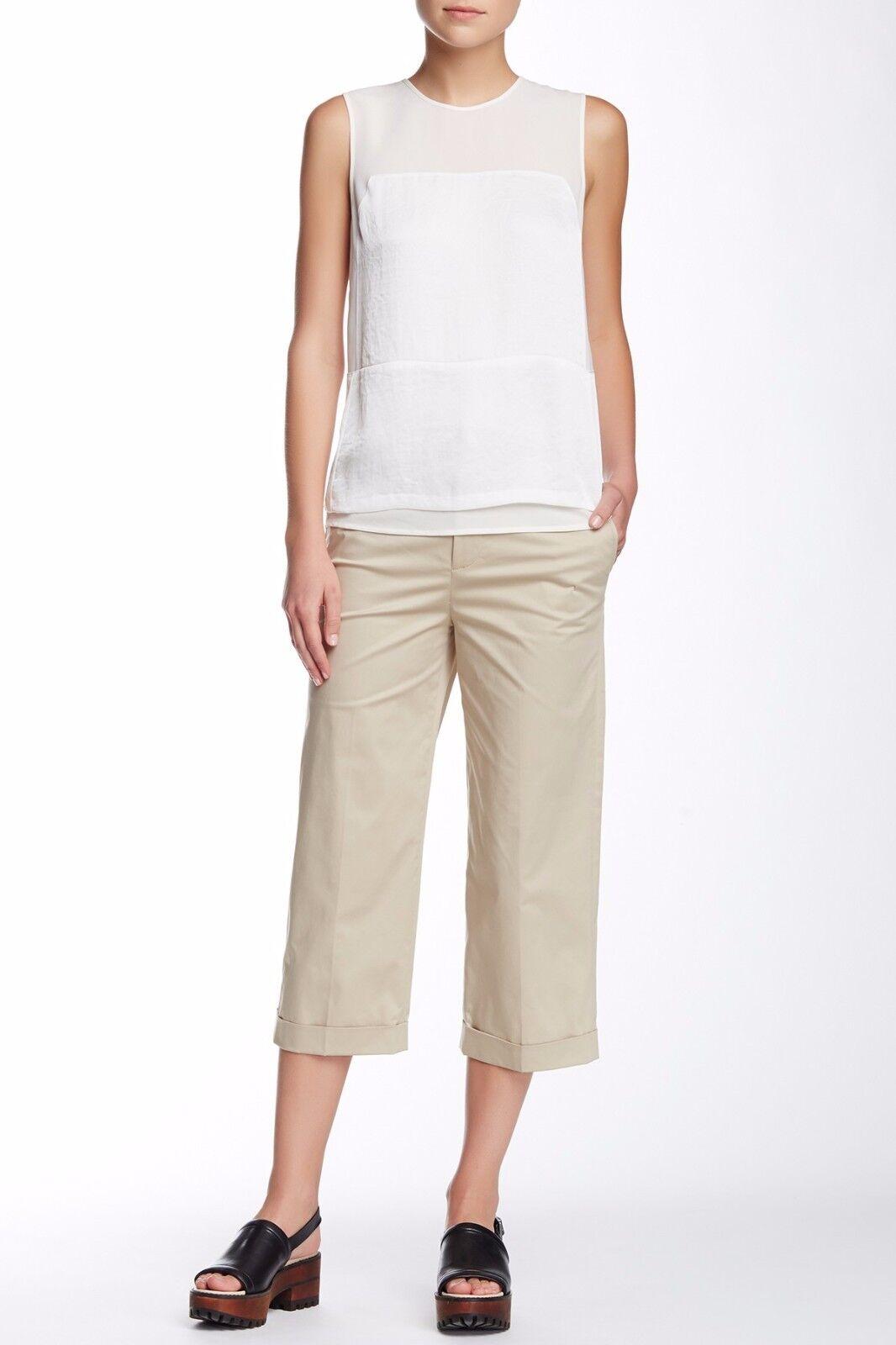 NWT J Brand Stanhope Trouser Pants Khaki  295 – Size 6