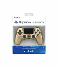 PlayStation 4: DualShock 4 Wireless Controller - GOLD [PS4 Official Accesso