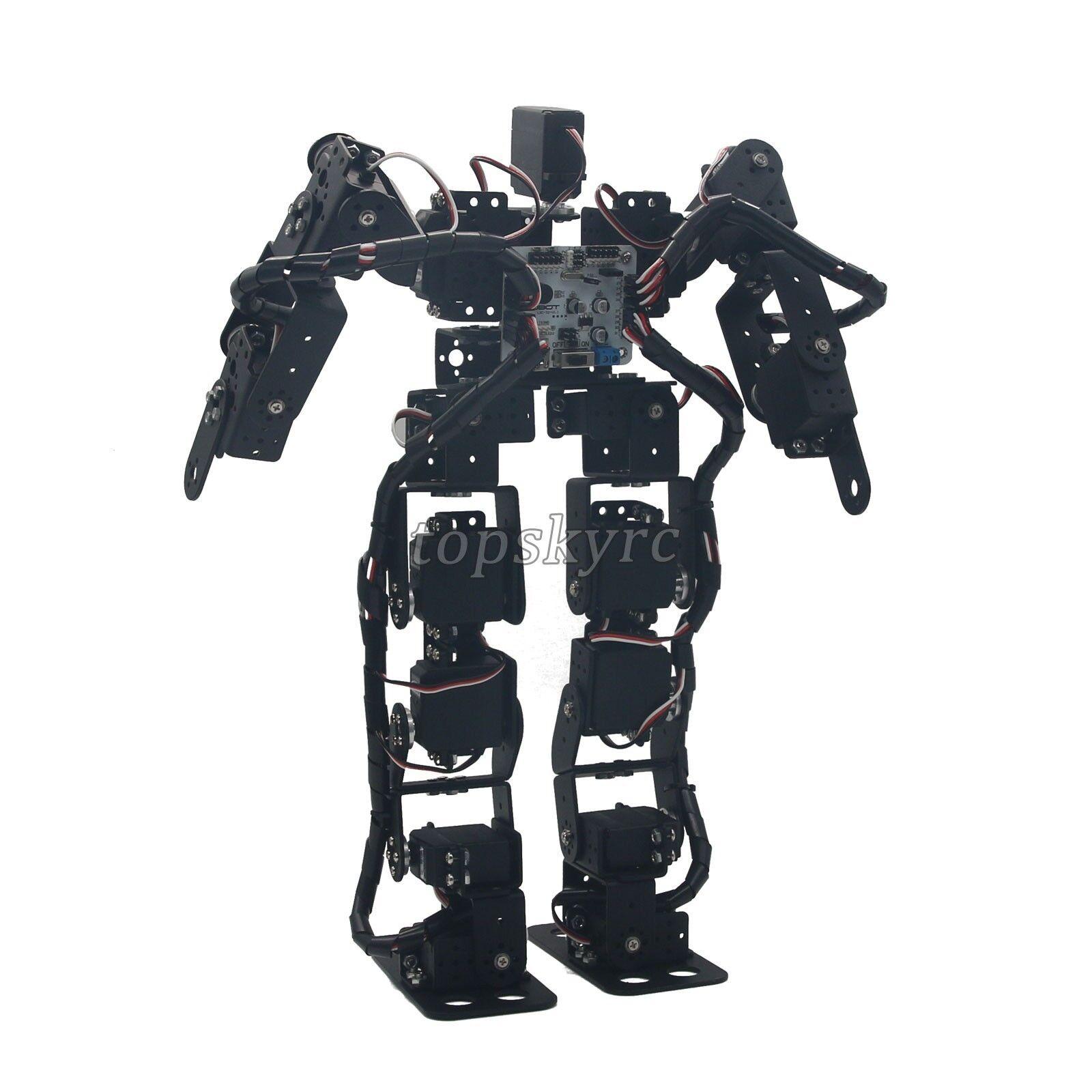 17DOF bipède Robot  éducatif Robot Kit Servo Support RouleHommest à billes tpys SZ    authentique en ligne