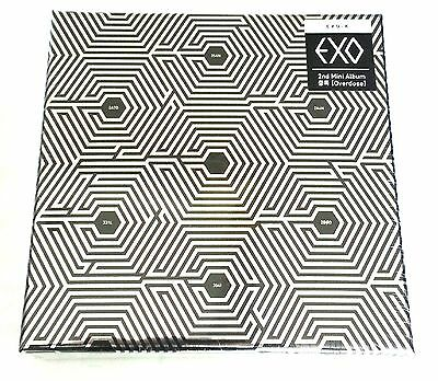 EXO LOTTO 3rd Album Repakage EX'ACT Chinse version :: CD+Booklet+Poster+Gift,New