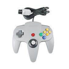Grey Controller For Nintendo 64 N64 Game pad Joystick