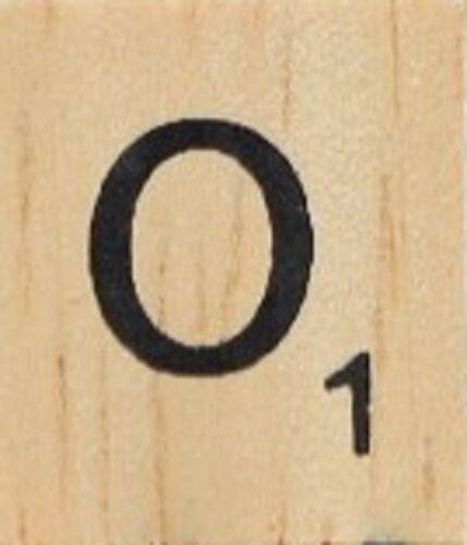 Bag Of 100 Scrabble Tiles All LETTER O