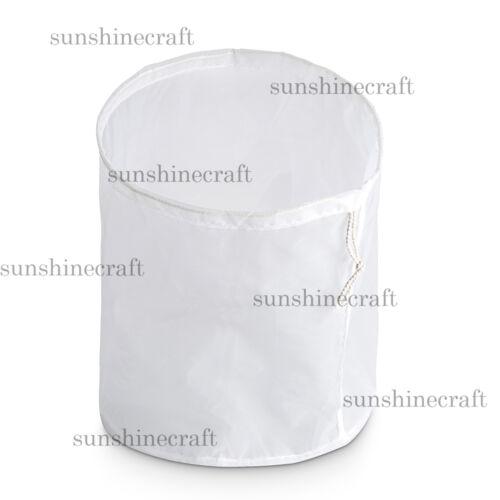 cylinder reusable nut milk tea juice wine fine NYLON mesh strain filter bag q