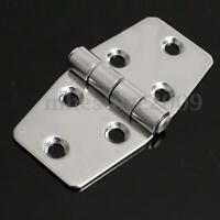 3'' Stainless Steel Boat Marine Flush Door Cabinet Butt Compartment Strap Hinge