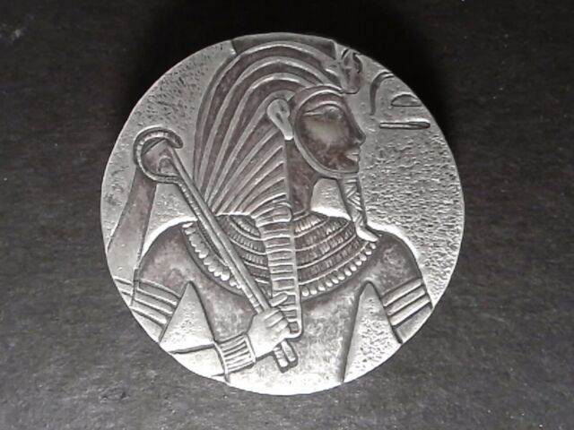 2016 5 Oz Silver - Republic of Chad - King Tut Egyptian Relic Series Coin