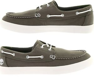 Bienvenido lotería Adaptar  Timberland Men's Union Wharf 2-Eye Boat Shoe Sneaker A1Q8H GREEN Canvas  Moccasin | eBay