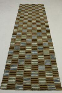 Tapis-d-039-orient-Vintage-Patchwork-Kelim-Tapis-d-039-entree-280x80-blanc-marron