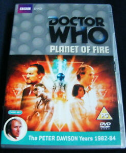 Doctor-Who-Planet-Of-Fire-2-Discos-Edicion-Especial-Vgc-Played-Once