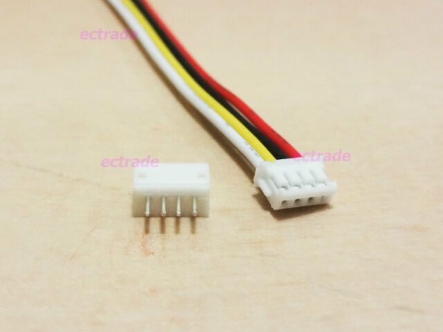 ZH 1.5mm 4-Pin JST Connector Plug with Wire x 10 sets