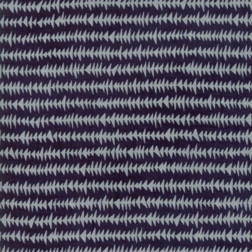 Moda Fabric Weather Permitting Stormy Sweltering Dark Blue Per 1//4 Metre