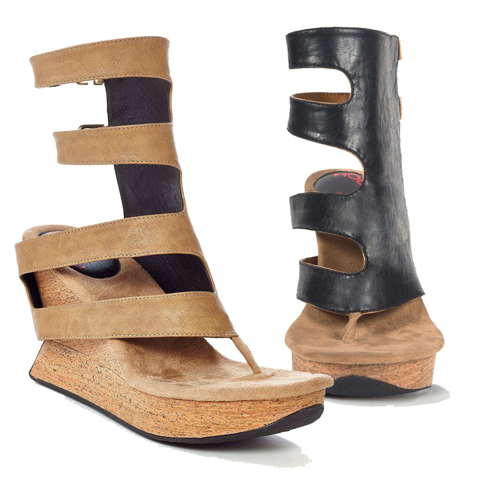 Modzori Vita Women's High Wedge Reversible Twister Sandal