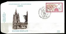 Belgium obp 1943 - CHURCH RONSE RENAIX - 1979 - FDC BEAUVOORDE