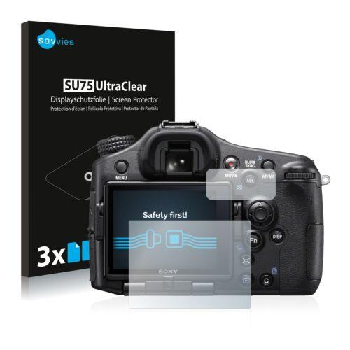 slt-a77 II protector de pantalla claro película protectora 6x Sony Alpha 77 II