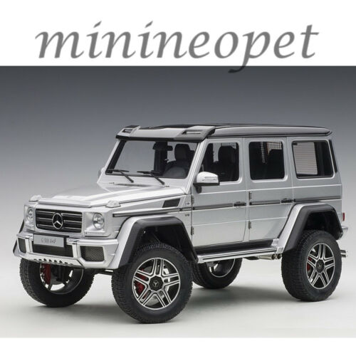 AUTOart 76318 MERCEDES BENZ G 500 4 x 4 2 1/18 MODEL CAR SILVER