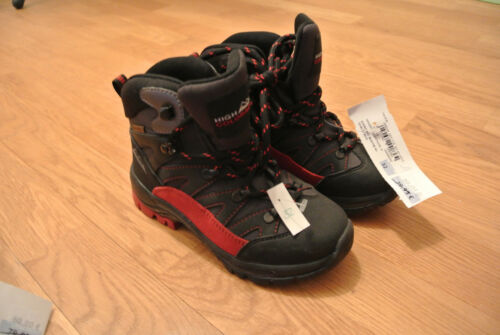 High Colorado STONE KID Bootie Red/Black RANDONNEE TAILLE 31 ou 32 jumeaux