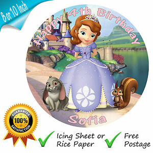 PRINCESS-SOFIA-THE-FIRST-EDIBLE-ROUND-PRINTED-CAKE-TOPPER-DECORATION