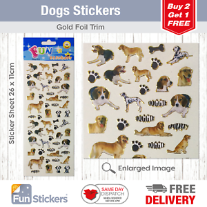 Cute Pets  Fun Stickers 323 STICKER SHEET 2 sheets