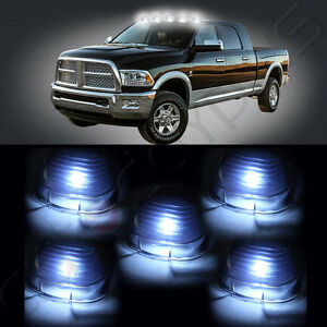 5x-Smoke-Lens-Marker-Running-Lamps-Cover-case-Free-Bulbs-For-Ford-Super-Duty