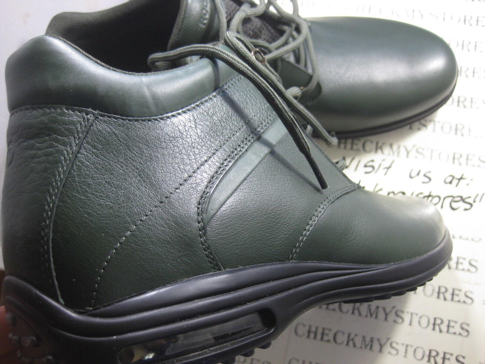 NIB    150 NEW ROCKPORT  K72700 K74901 CR PT CHUKKA  LEATHER MENS  COMFORT Stiefel . 47979a