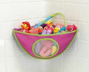 Image Is Loading Munchkin Corner Bath Toy Organiser Pink Baby Girl