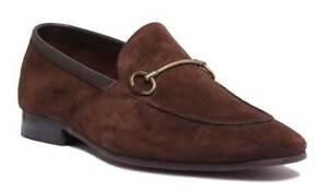 Justin-Reece-Lewis-Mens-Brown-Suede-Shoes-Size-UK-6-12