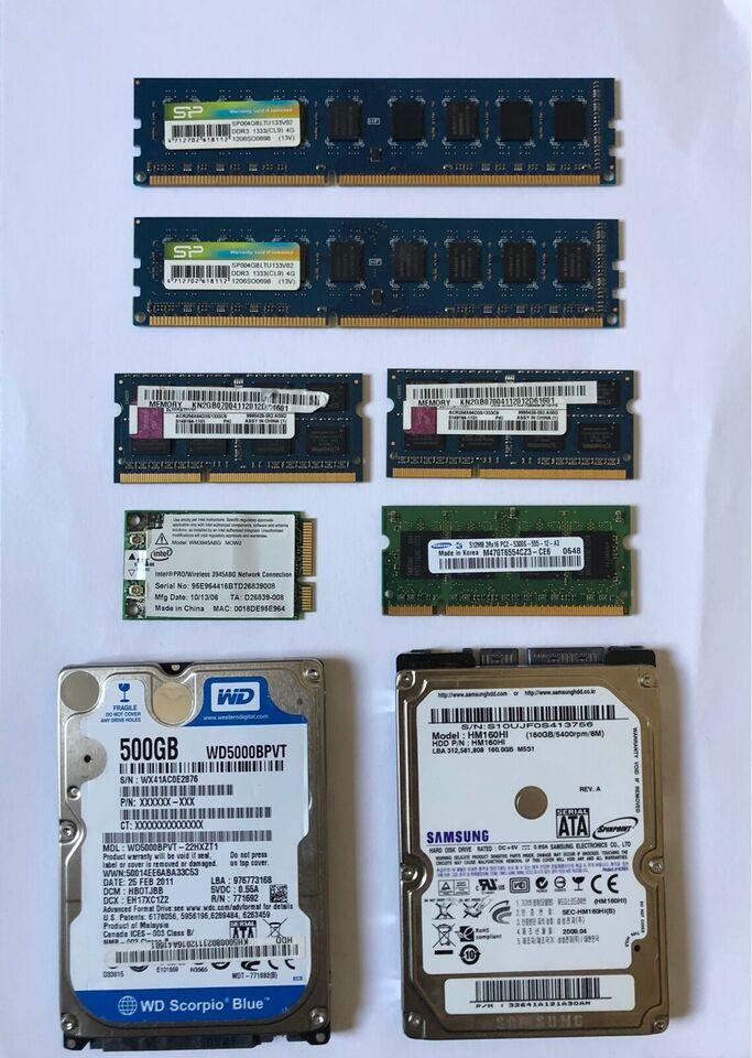 WD & Samsung, 512 GB, God