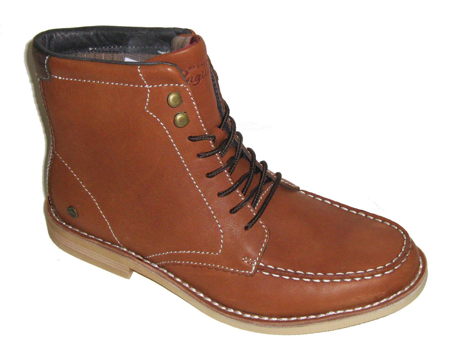 Original Penguin Men's Shoes Hammer Leather Dress Boots Tortoise Shell Size 9