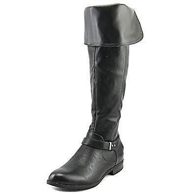 Bar III Daphne Women Over The Knee Boots (6 M, Black)